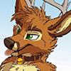 furry deer