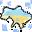 Поделился снегом c Моя Україна ^_^