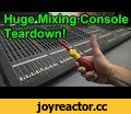 EEVblog #840 - Yamaha M3000 Mixing Console Teardown,Science & Technology,mixing console,yamaha,m3000,teardown,concert,sound reinforcement,music,mixer,professional,how to,repair,Dave tears down a monster of a mixing console! A Professional 40 channel Yamaha M3000 mixer designed for sound