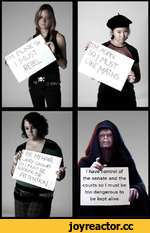 I havexontrol of the senate and the courts so I must be too dangerous to be kept alive