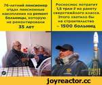 76-летний пенсионер отдал пенсионные накопления на ремонт больницы, которую не ремонтировали Роскосмос потратит 1,5 трлн В на ракету сверхтяжёлого класса. Этого хватило бы на строительство 35 лет ~ 1500 больниц  н