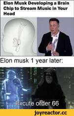 Elon Musk Developing a Brain Chip to Stream Music in Your Head Elon musk 1 year later: