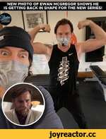 NEW PHOTO OF EWAN MCGREGOR SHOW IS GETTING BACK IN SHAPE FOR THE NEW S ui LU CO LU